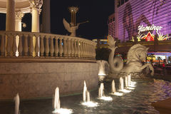 LAS VEGAS - 3 DE AGOSTO: Opinião da tira de Las Vegas o 3 de agosto de 2007 dentro Imagem de Stock Royalty Free