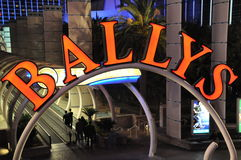 Las Vegas de Bally Fotos de archivo libres de regalías