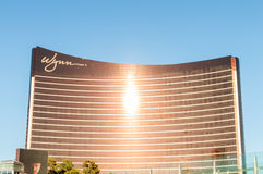 Las Vegas - 12 de dezembro de 2013: Casinos famosos de Las Vegas em Decem Foto de Stock