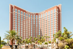 Las Vegas - 12 de dezembro de 2013: Casinos famosos de Las Vegas em Decem Imagem de Stock Royalty Free