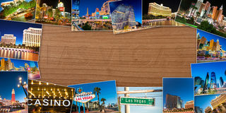 LAS VEGAS - 21 DE DICIEMBRE: Casinos famosos de Las Vegas el 21 de diciembre Fotografía de archivo libre de regalías