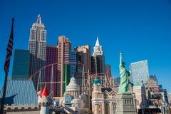 Las Vegas - 13 de diciembre de 2013: Casinos de Las Vegas el 13 de diciembre fotografía de archivo