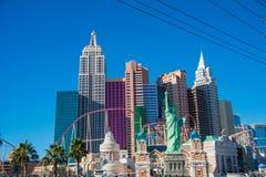 Las Vegas - 13 de diciembre de 2013: Casinos de Las Vegas el 13 de diciembre fotos de archivo