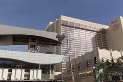 El distrito en Las Vegas, nanovoltio de Linq el 22 de febrero de 2013 Imagen de archivo