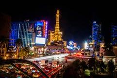 LAS VEGAS - 15 de junho de 2013 vista da rua de Vegas, Nevada Fotografia de Stock Royalty Free