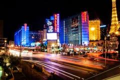 LAS VEGAS - 15 de junho de 2013 vista da rua de Vegas, Nevada Fotografia de Stock