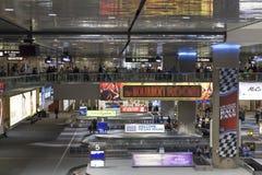 Aeroporto internacional em Las Vegas, nanovolt de McCarren o 6 de março de 201 fotos de stock
