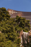 Hotel de Wynn e característica em Las Vegas, nanovolt da água o 30 de março de 2013 Fotos de Stock