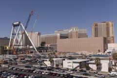 El gran apostador, en Las Vegas, nanovoltio el 5 de marzo de 2013 Foto de archivo