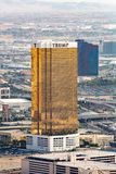 Las Vegas, de V.S. - 12 Juli 2017: Sluit omhoog mening van het goud en wh Royalty-vrije Stock Foto's
