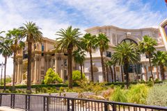 Las Vegas, de Verenigde Staten van Amerika - Mei 05, 2016: Het Caesars Palacehotel op 05 Oktober, 2016 in Las Vegas Royalty-vrije Stock Fotografie