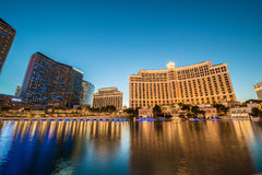 LAS VEGAS - DECEMBER 21: Bellagio casino on Royalty Free Stock Images