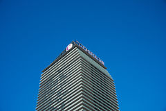 Las Vegas - DECEMBER 13, 2013: Las Vegas Casinos on December 13 Stock Images