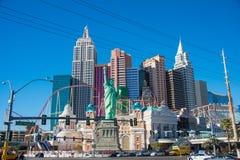 Las Vegas - DECEMBER 13, 2013: Las Vegas Casinos on December 13 Royalty Free Stock Photo