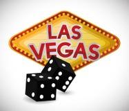 Las Vegas design Royalty Free Stock Photography