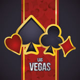 Las Vegas design Royalty Free Stock Image