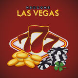 Las Vegas design Royalty Free Stock Photography