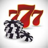 Las Vegas design Royalty Free Stock Image