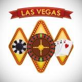 Las Vegas design Royalty Free Stock Photo
