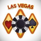 Las Vegas design Stock Images