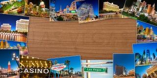 LAS VEGAS - 21 DICEMBRE: Casinò famosi di Las Vegas il 21 dicembre Fotografia Stock Libera da Diritti