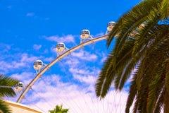 Las Vegas, die Vereinigten Staaten von Amerika - 5. Mai 2016: Der High Roller am Linq, an einem Speisen und am Gewerbegebiet an Stockfotos