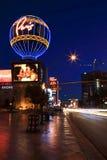 Las Vegas at dusk Stock Images