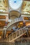 Las Vegas, E.U. - 28 de abril de 2018: O interior do fórum famoso Imagens de Stock