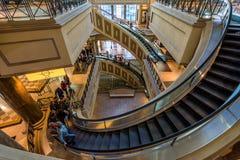 Las Vegas, E.U. - 28 de abril de 2018: O interior do fórum famoso Fotos de Stock Royalty Free