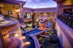 Las Vegas, E.U. - 28 de abril de 2018: O interior do fórum famoso Imagens de Stock Royalty Free