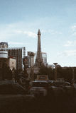 Las Vegas Eiffel Tower. Far out view of the Eiffel Tower of Las Vegas Stock Image