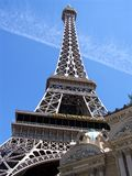 Las Vegas Eiffel Tower Long Shot. Image of Eiffel Tower replica in Las Vegas, Nevada Stock Photos
