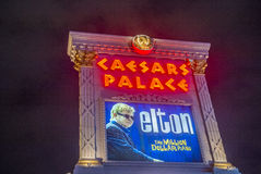 Las Vegas , Elton John Stock Image
