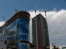 Las Vegas em 2009 Construção de cosmopolita Fotografia de Stock Royalty Free