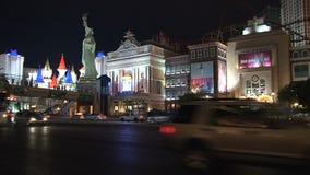 Las Vegas en la noche metrajes