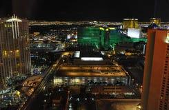 Las Vegas en la noche - Las Vegas, los E.E.U.U. Imagenes de archivo