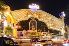 Las Vegas en la noche, Las Vegas, nanovoltio de Harrah fotos de archivo libres de regalías