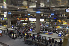 Aéroport international de McCarran à Las Vegas, nanovolt sur Apri 01, 2013 Images libres de droits