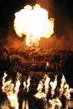 Las Vegas eruption Royalty Free Stock Images