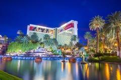Las Vegas - espejismo Imágenes de archivo libres de regalías