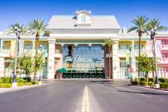 Las Vegas, Etats-Unis - 1er octobre 2012 : L'hôtel d'Orléans Images libres de droits