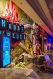 Las Vegas, Etats-Unis - juillet 2016 vue de bande de Las Vegas la nuit au Nevada Etats-Unis Photo stock