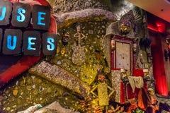 Las Vegas, Etats-Unis - juillet 2016 vue de bande de Las Vegas la nuit au Nevada Etats-Unis Photos libres de droits