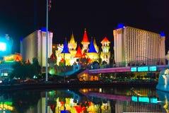 Las Vegas, EUA - 5 de maio de 2016: O hotel e o casino de Excalibur Imagem de Stock