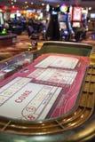 Las Vegas EUA, julho, 4,2014: Tabelas de jogo da estratosfera em Las Fotos de Stock