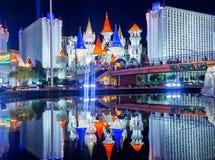 Las Vegas, Excalibur Foto de Stock