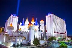 Las Vegas Excalibur hotel Obrazy Royalty Free