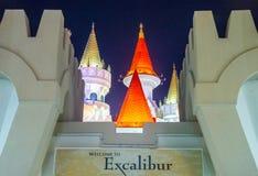 Las Vegas Excalibur hotel Zdjęcia Stock