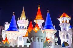 Las Vegas Excalibur hotel Zdjęcie Stock