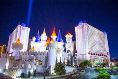 Las Vegas Excalibur hotel Royalty Free Stock Images
